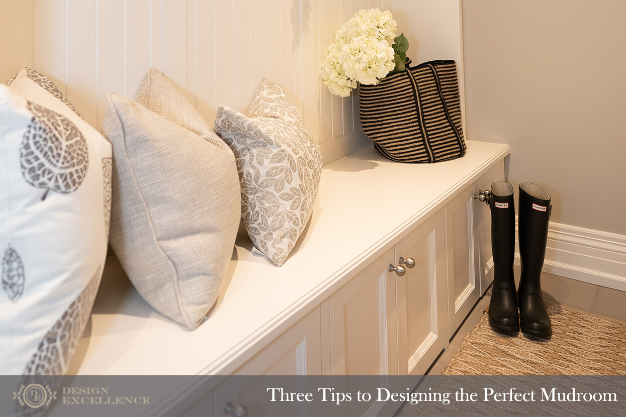 Design Excellence :: Three Tips for Designing the Perfect Mudroom