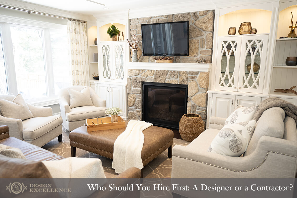 Design Excellence :: Who Should You Hire First: A Designer or a Contractor?