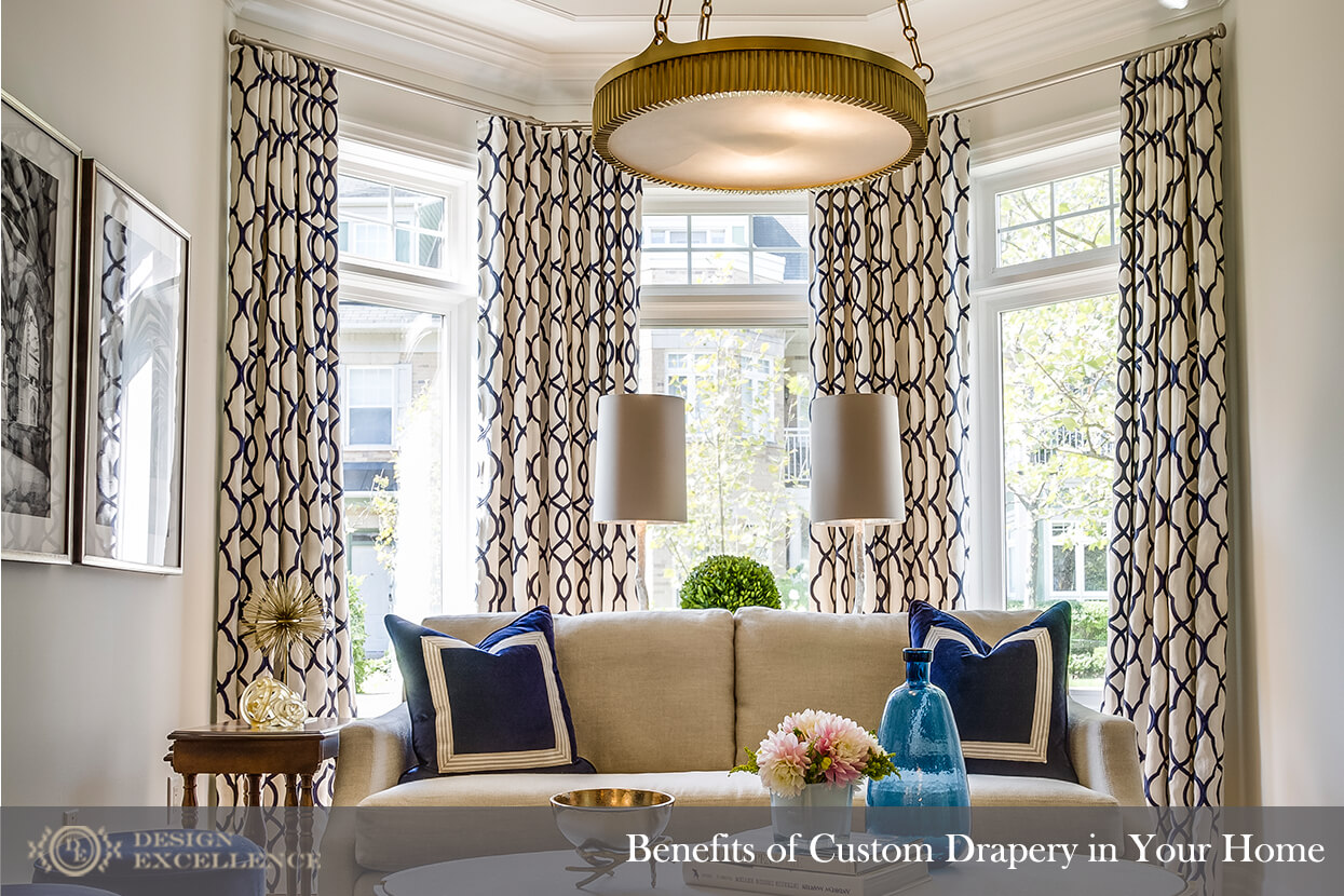 Design Excellence :: Benefits of Custom Drapery in Your Home